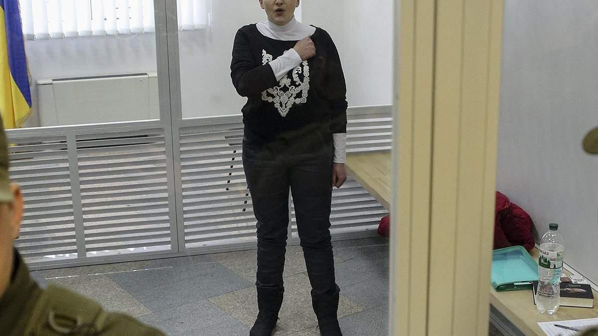 Надії Савченко знову продовжили термін арешту