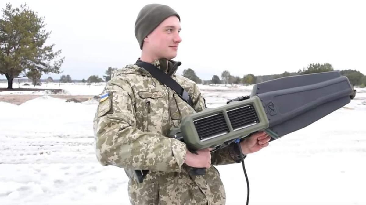 Військові випробували новий радіокомплекс, що може блокувати будь-які дрони