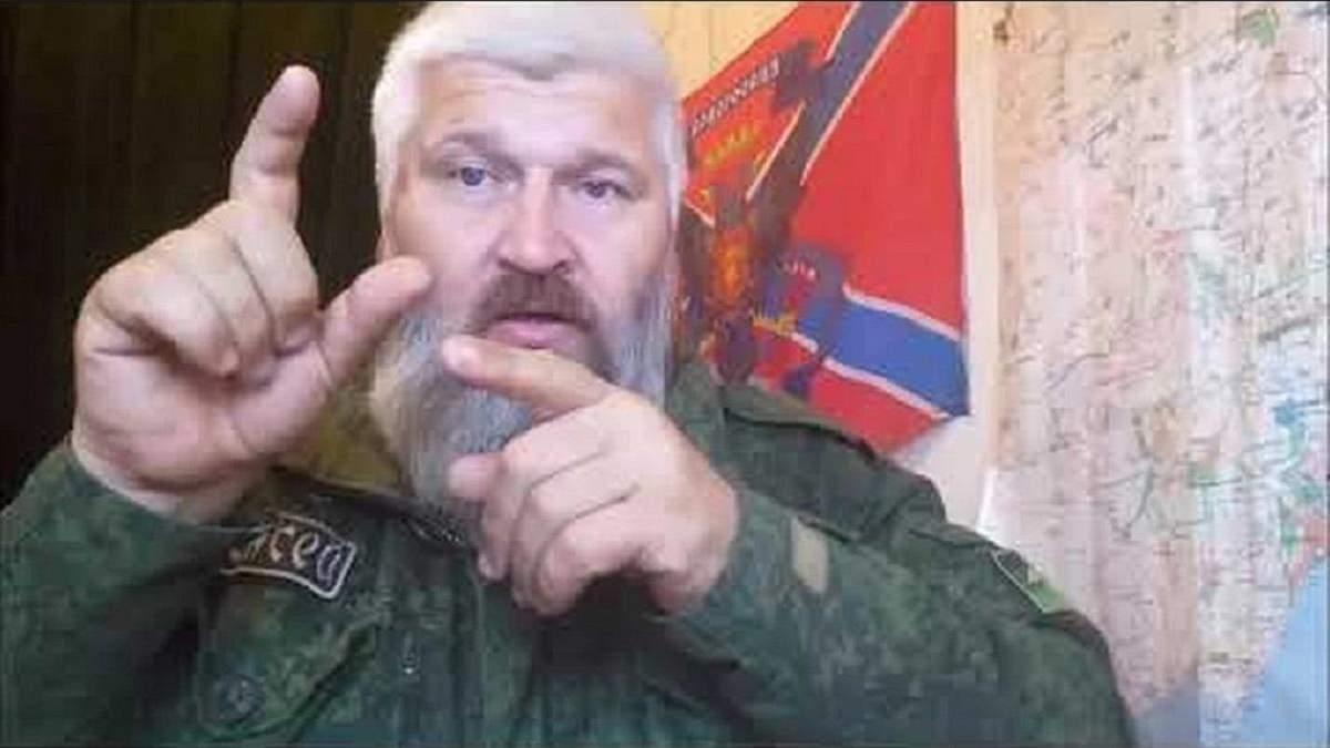 Проросійський бойовик В'ячеслав Д'яков