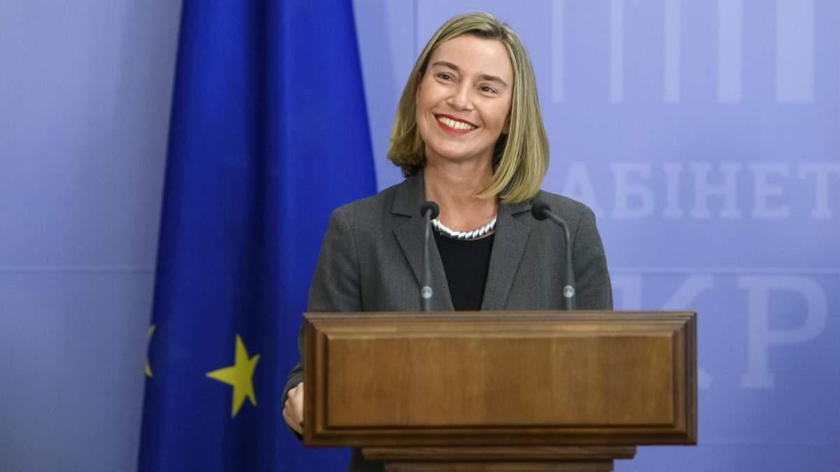 Несколько недель, – Могерини сделала заявление относительно новых санкций против России