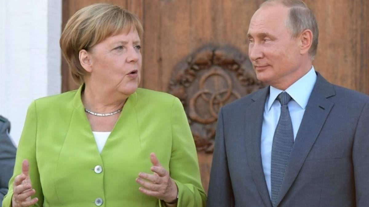"""Меркель підтримала Росію і """"Північний потік-2"""""""