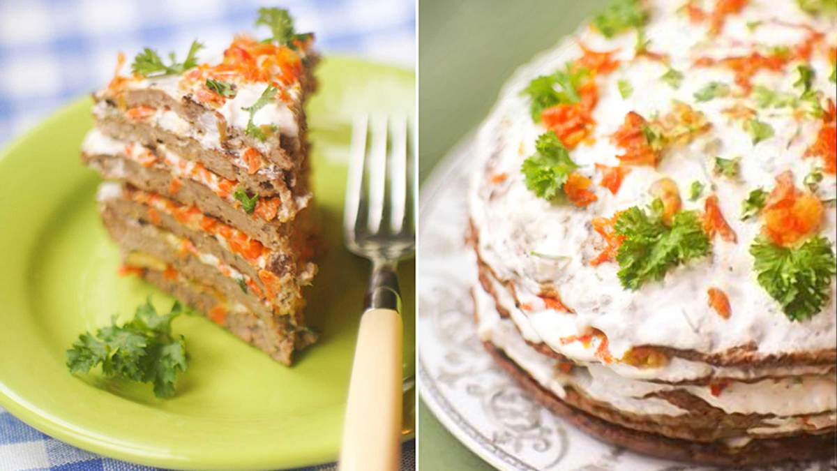 Печеночный торт - вкусный рецепт приготовления