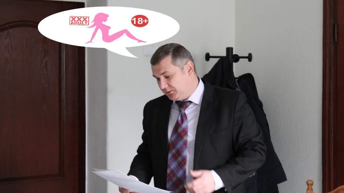 У Кропивницькому начальник облавтодору Андрій Руднік сконфузився через звуки порно на телефоні
