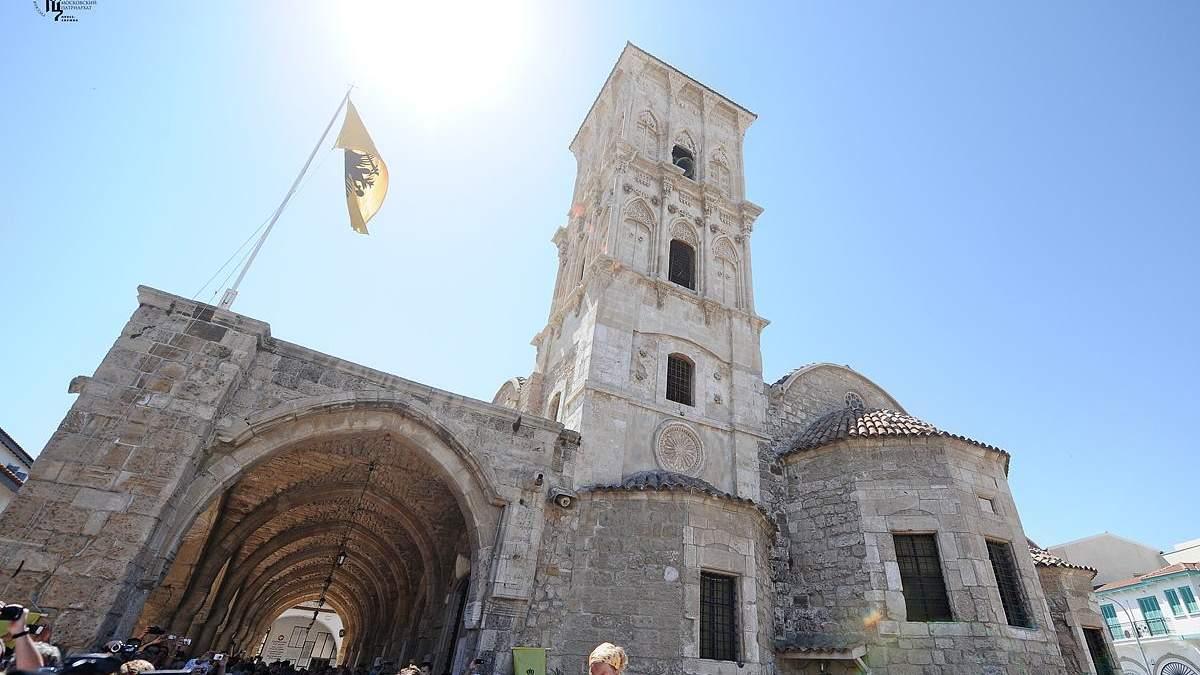 Кіпрська православна церква засудила агресивну поведінку Росії щодо ПЦУ