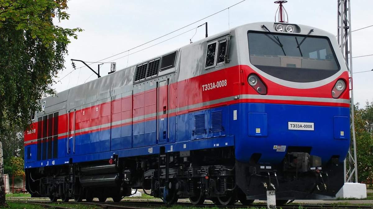 """""""Укрзализныци"""" передали новые локомотивы: фото"""