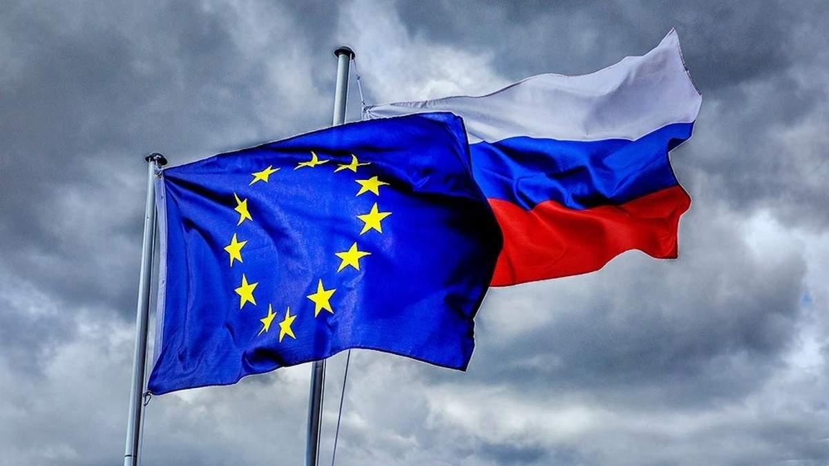 Росія потрапила в антирейтинг від ЄС