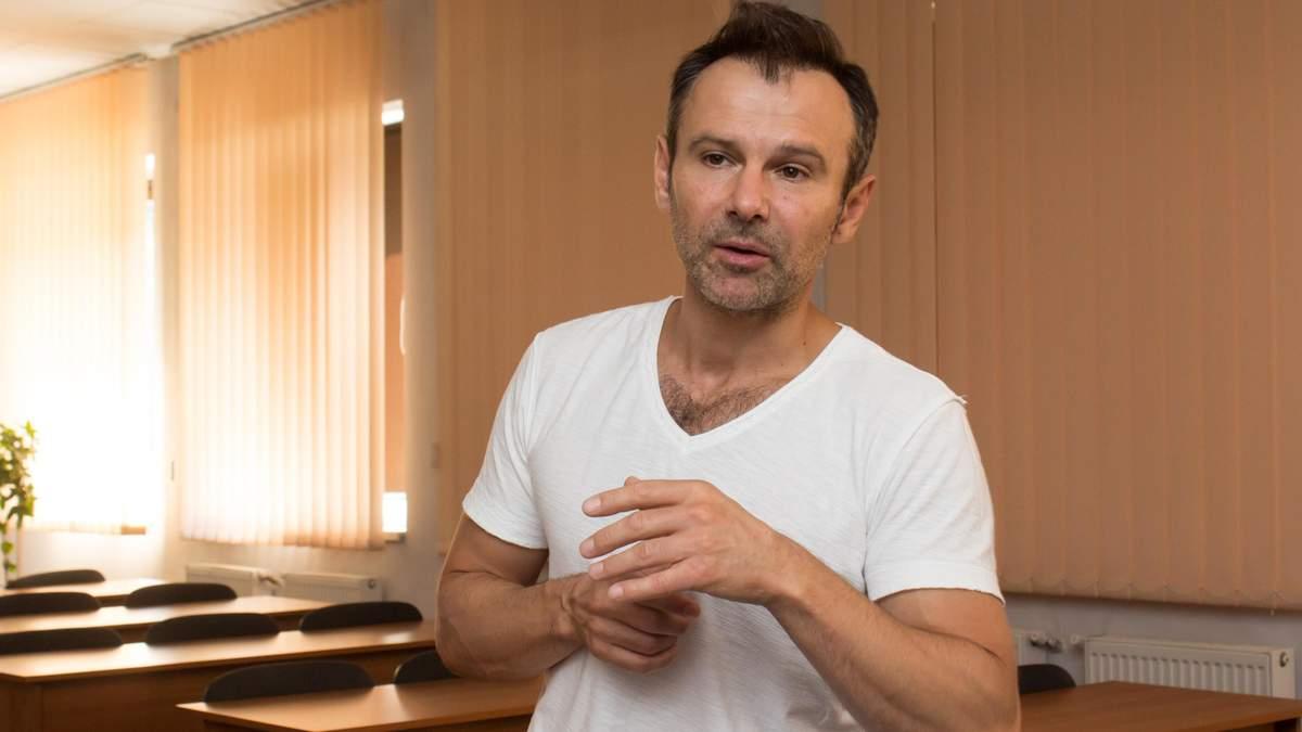 Вакарчук рассказал о своих отношениях с Пинчуком
