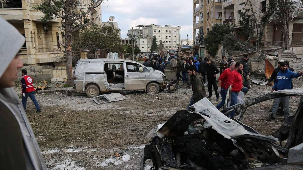 У Сирії стався подвійний теракт, багато загиблих: фото і відео 18+
