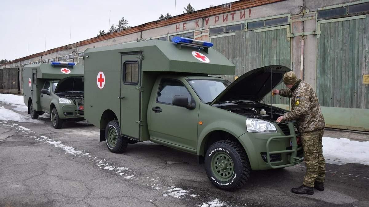 Підрозділи ЗСУ на Донбасі отримали партію медичної техніки