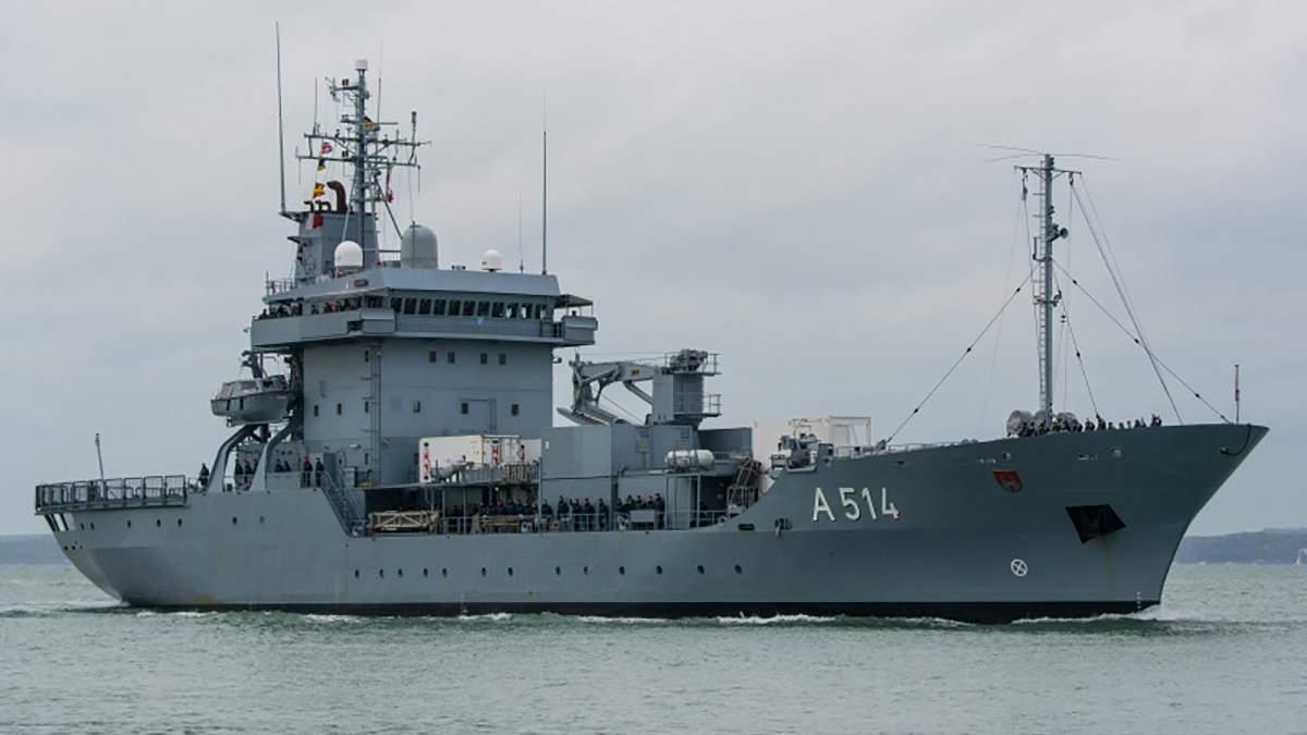 У Чорне море увійшли кораблі НАТО