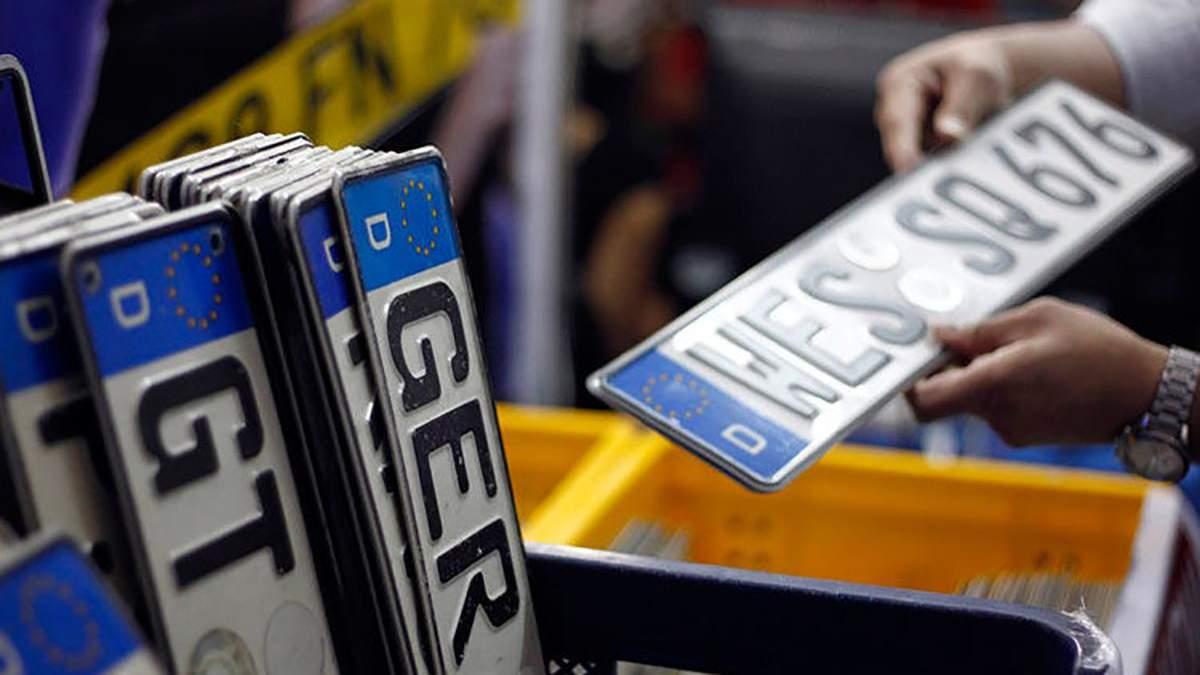 За растаможивание авто на еврономерах придется платить полную цену: какие штрафы грозят