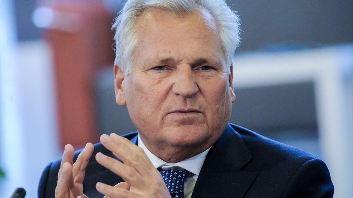 Путіну потрібна Україна, щоб створити велику Росію, – екс-президент Польщі