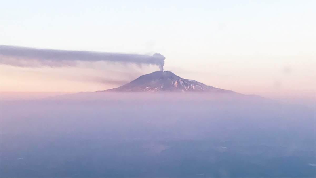На Сицилії активізувався найбільш діючий вулкан в Європі
