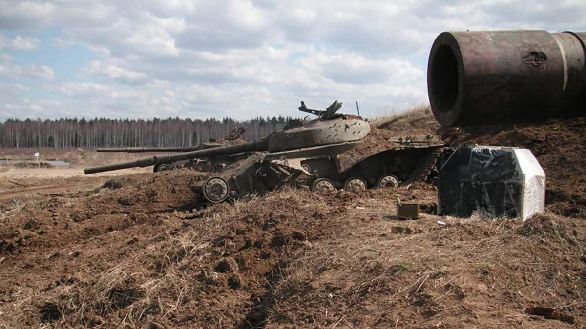 У Росії похвалилися показовим розстрілом українського танку