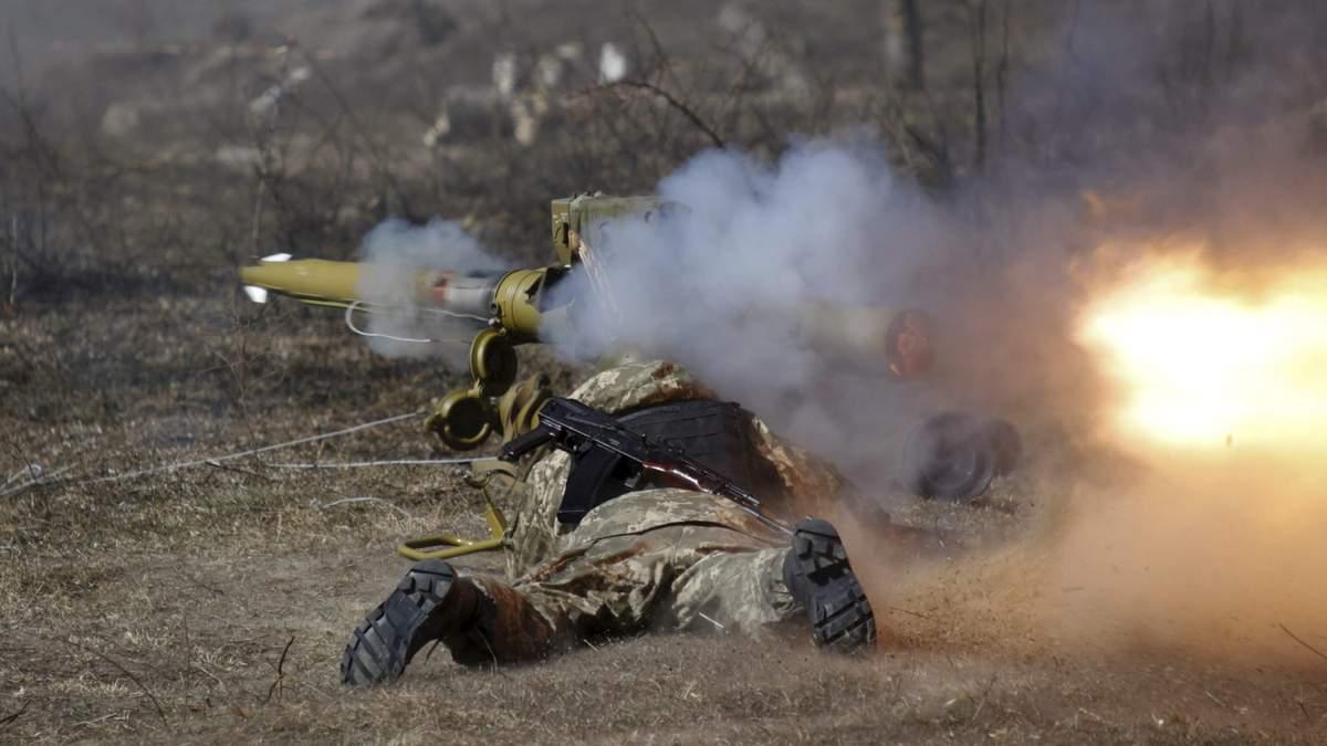 На Донбассе значительные потери среди боевиков, однако один украинский воин получил ранение