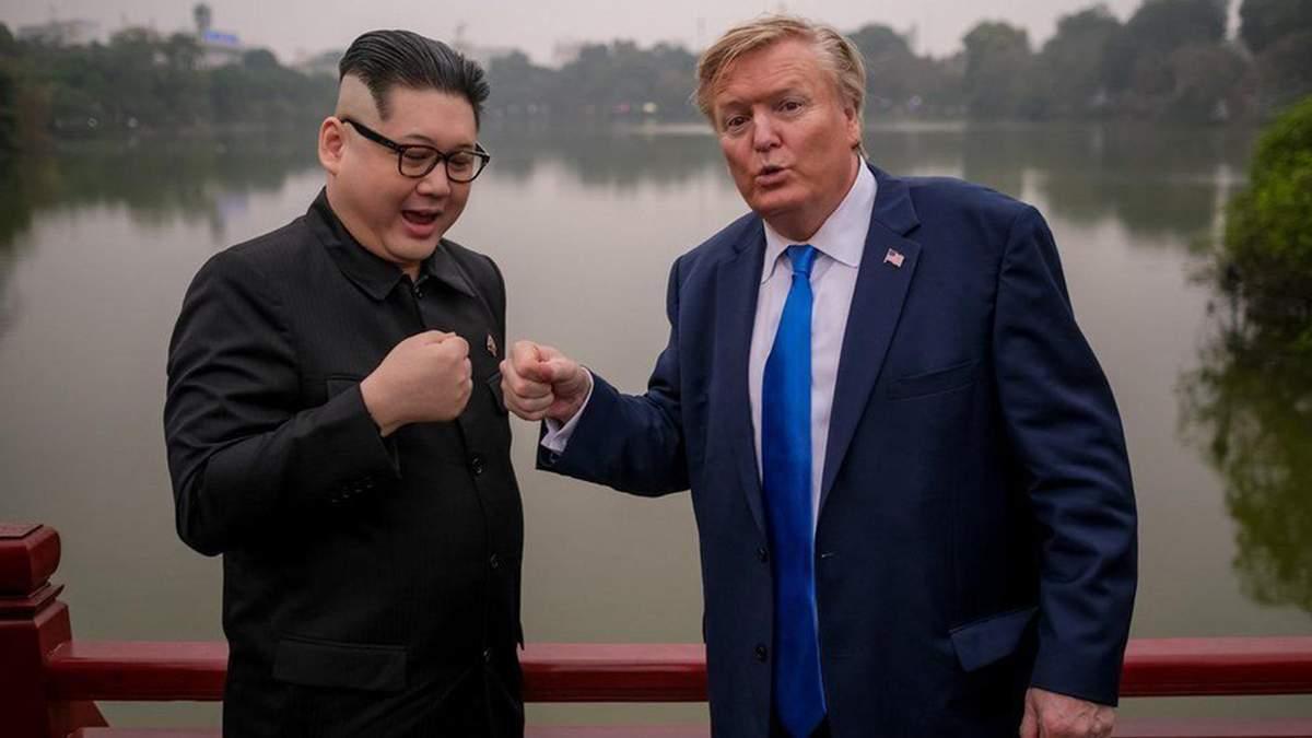 Двойники Трампа и Ким Чен Ына