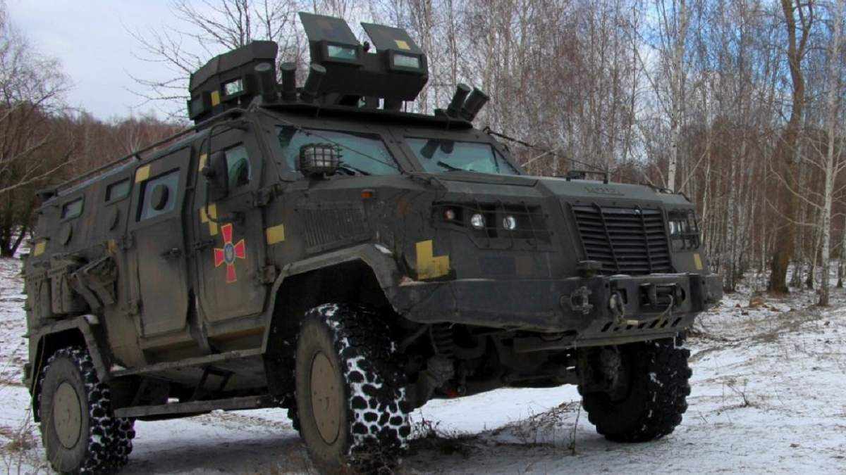 "Український броньований автомобіль ""Козак-2М1"""