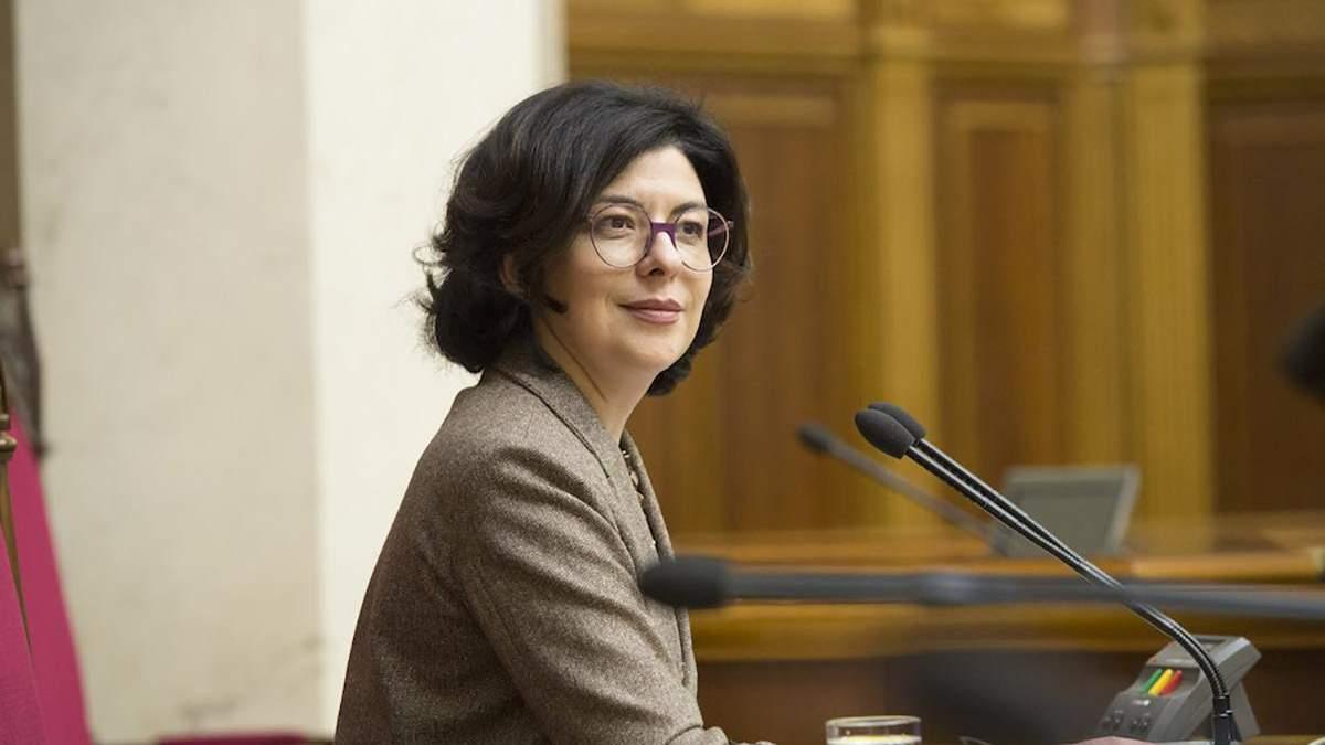 Віце-спікер парламенту Оксана Сироїд