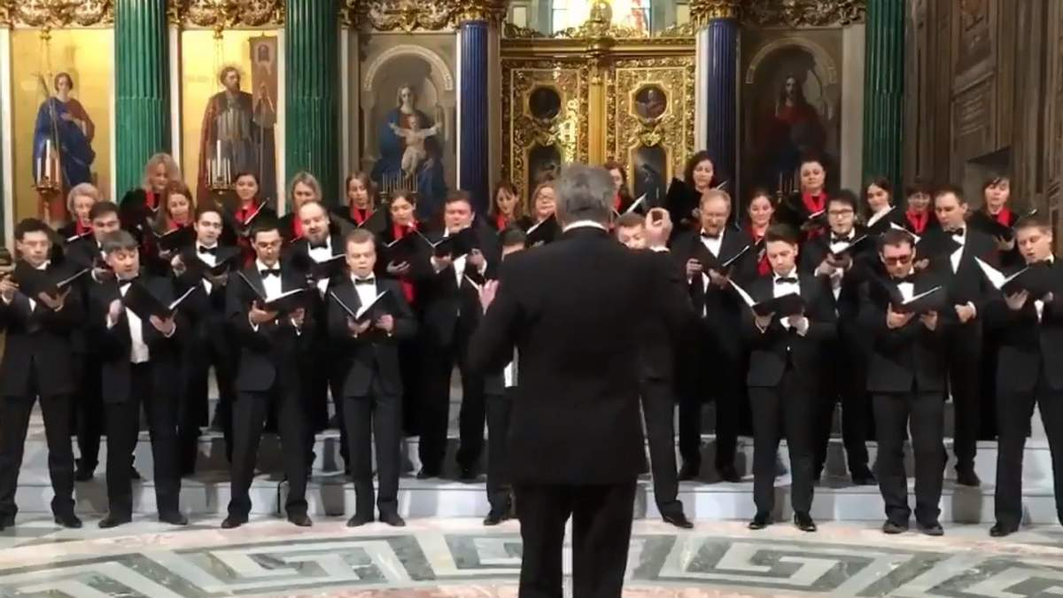 """""""Цілься у місто Вашингтон"""": у соборі Росії заспівали про атомне бомбардування США"""