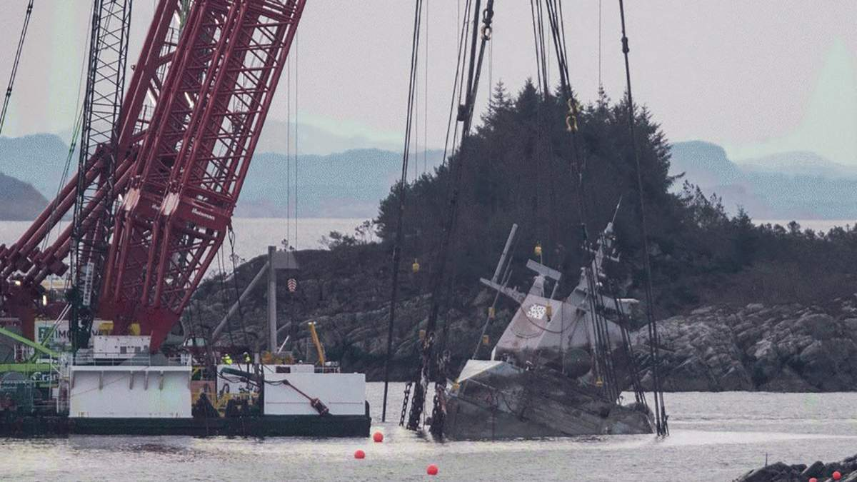 Аварія фрегата НАТО