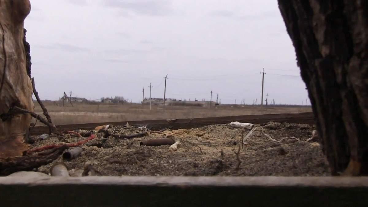 Бойовики обстріляли позиції ЗСУ посеред зйомок 24 каналу: відео з передової