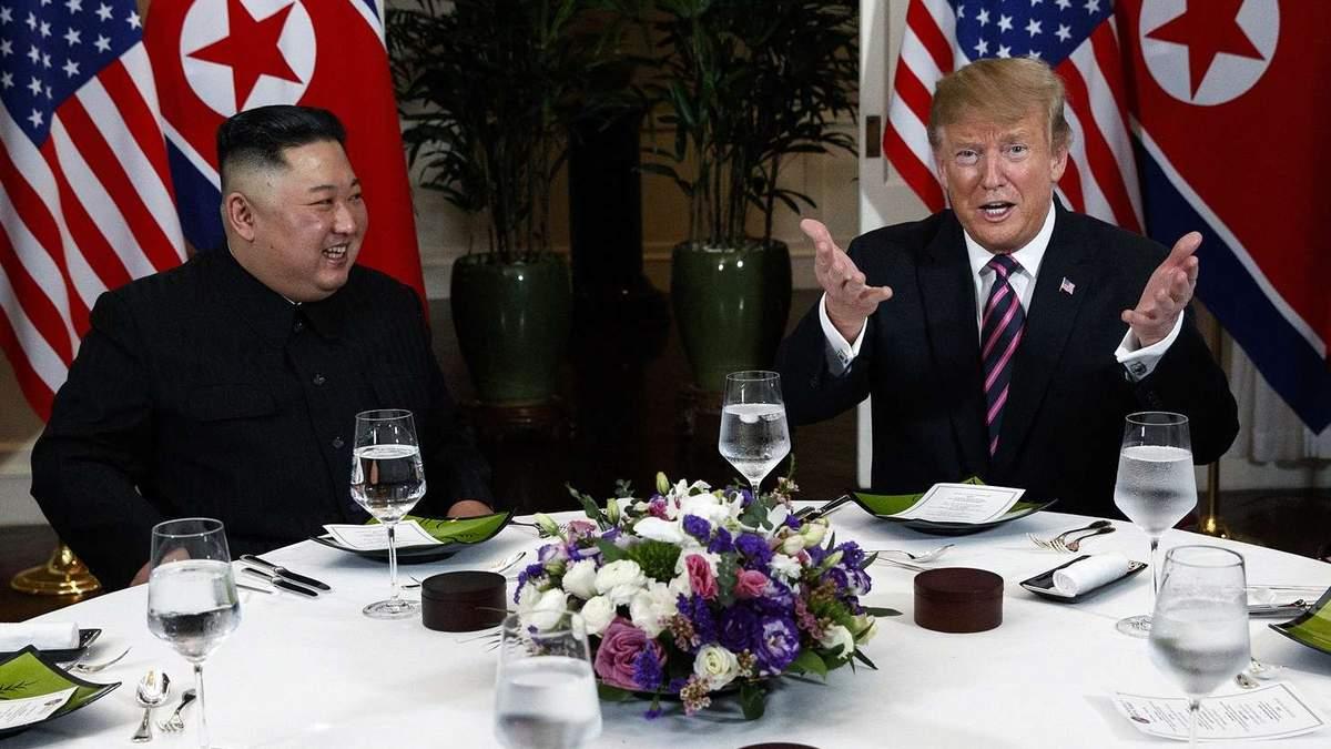 Кім Чен Ин та Дональд Трамп на другому саміті США та КНДР у Ханої