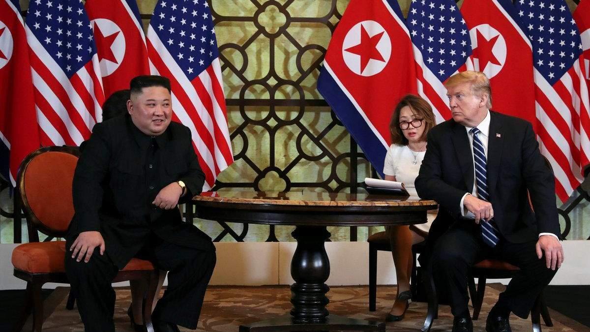 Трамп и Ким Чен Ын не договорились о ядерном разоружении КНДР