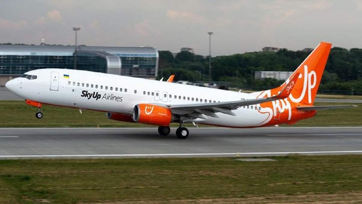 SkyUp Airlines змінює розміщення літаків