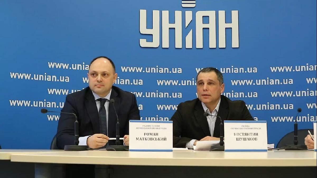 Прес-конференції в УНІАН щодо Шушакова