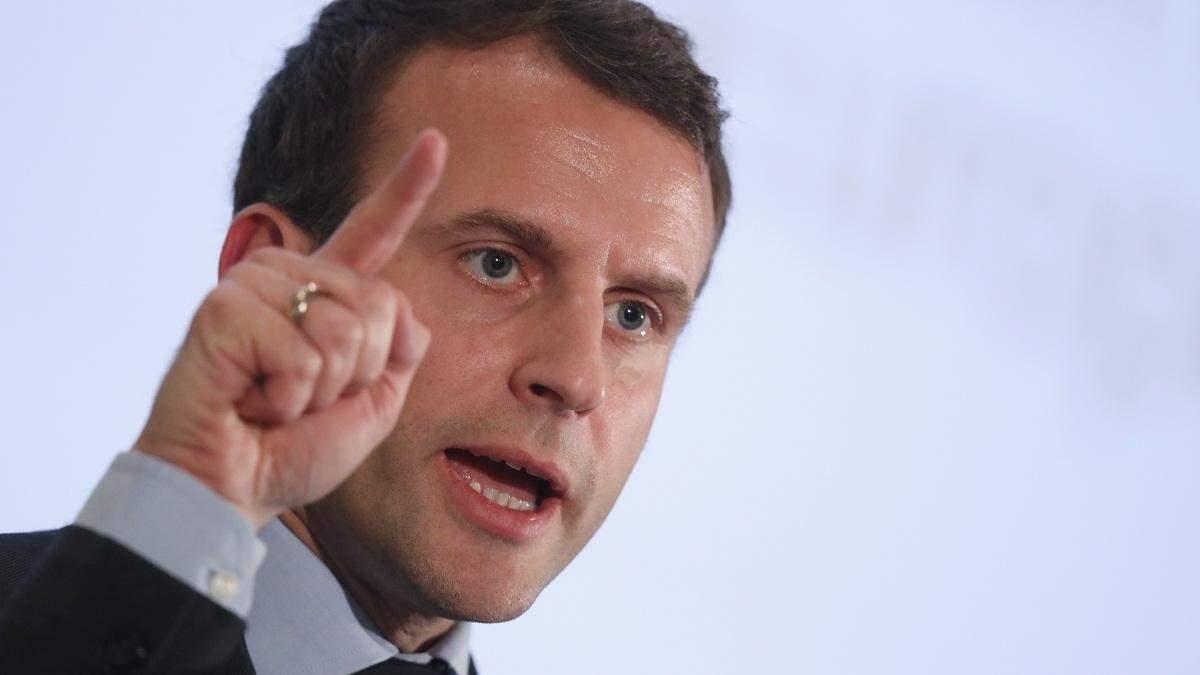 Макрон не собирается запрещать акции протеста во Франции