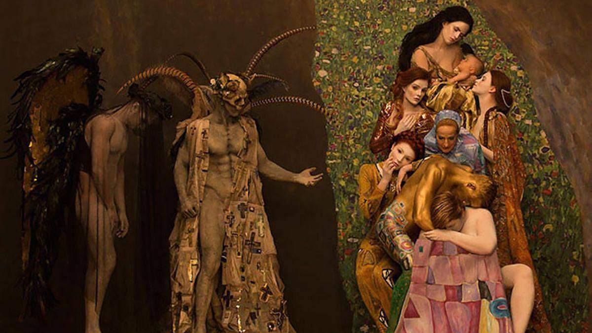 """""""Золоті картини"""" Клімта оживили у незвичайному проекті: приголомшливі фото"""
