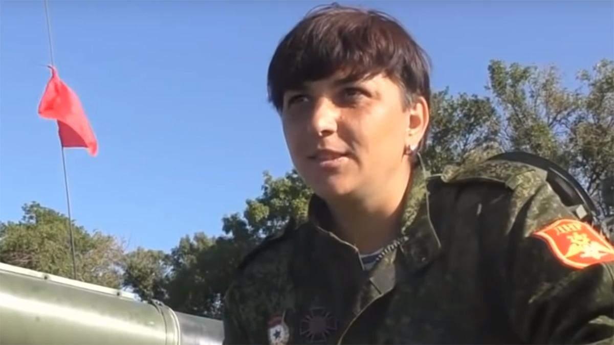 """Екс-заступник командира полку """"ДНР"""" перейшла на бік ЗСУ"""