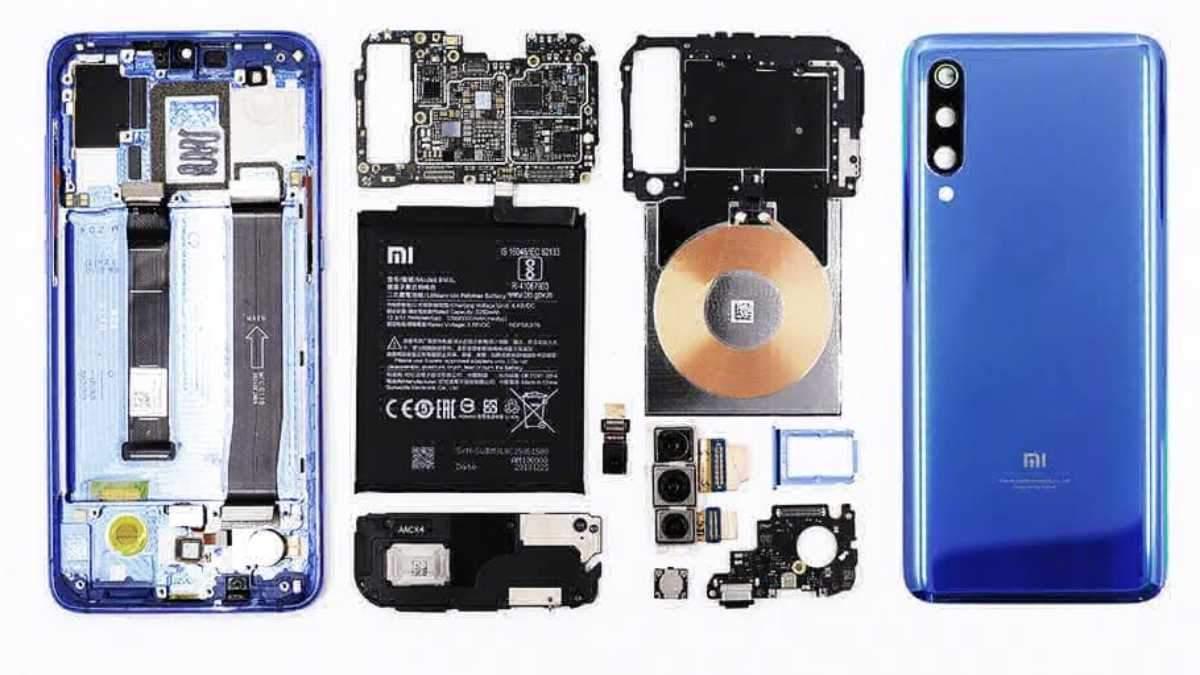 Xiaomi Mi 9 изнутри