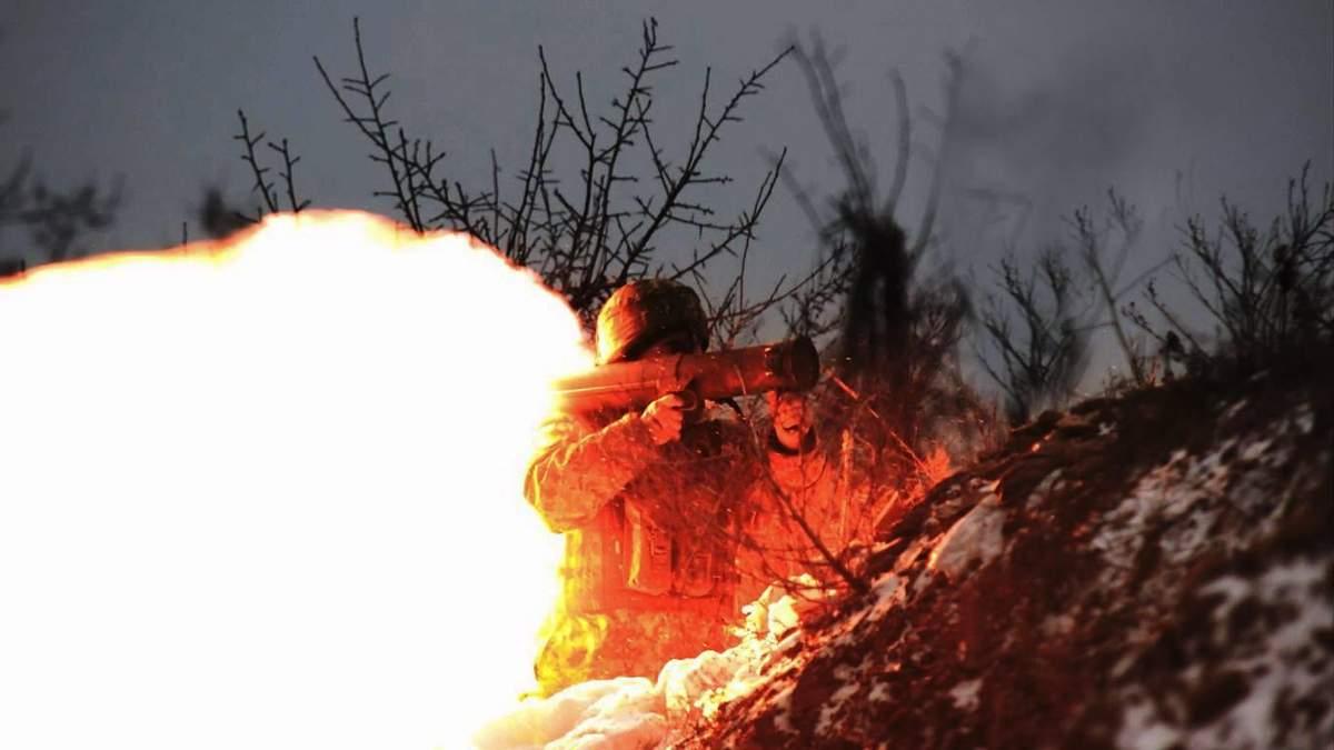 Українські бійці знищили ворожий пункт окупантів на Донбасі