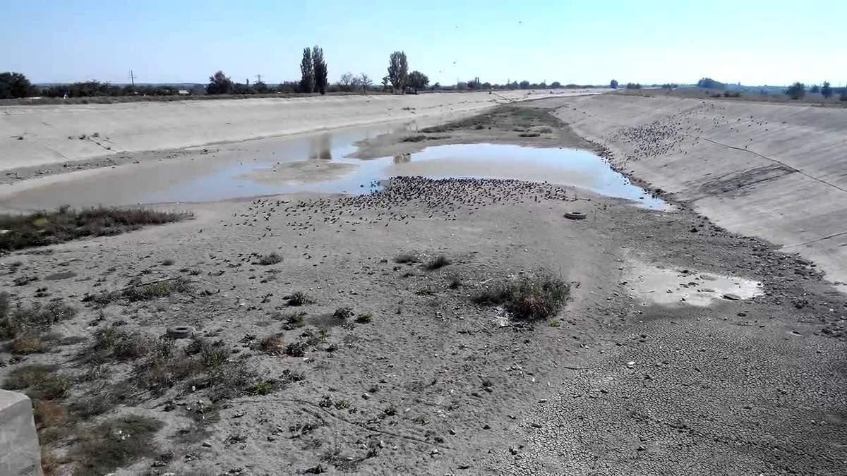 Окупанти стверджують, що води кримчанам вистачить на цілий рік