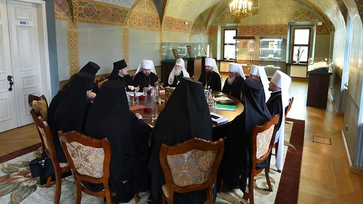 ПЦУ провела второе заседание Священного синода