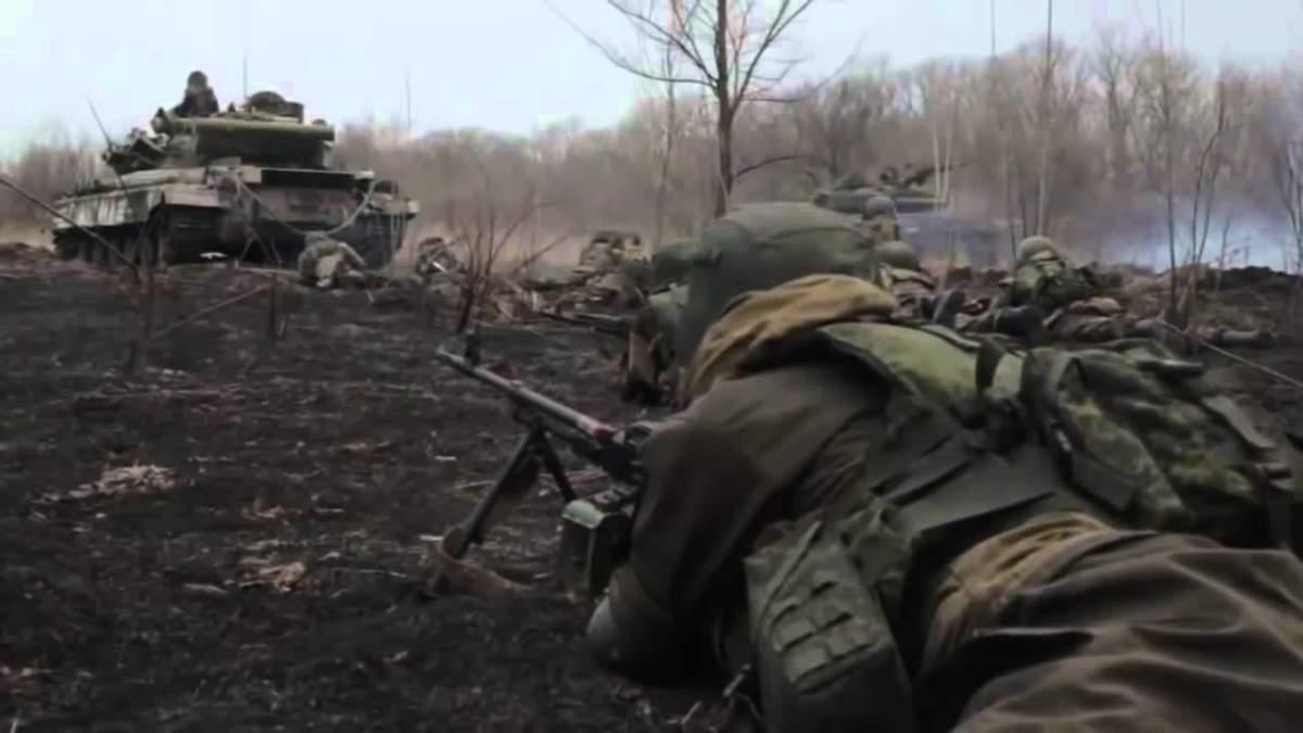 Проросійські бойовики обстріляли позиції ЗСУ з танків