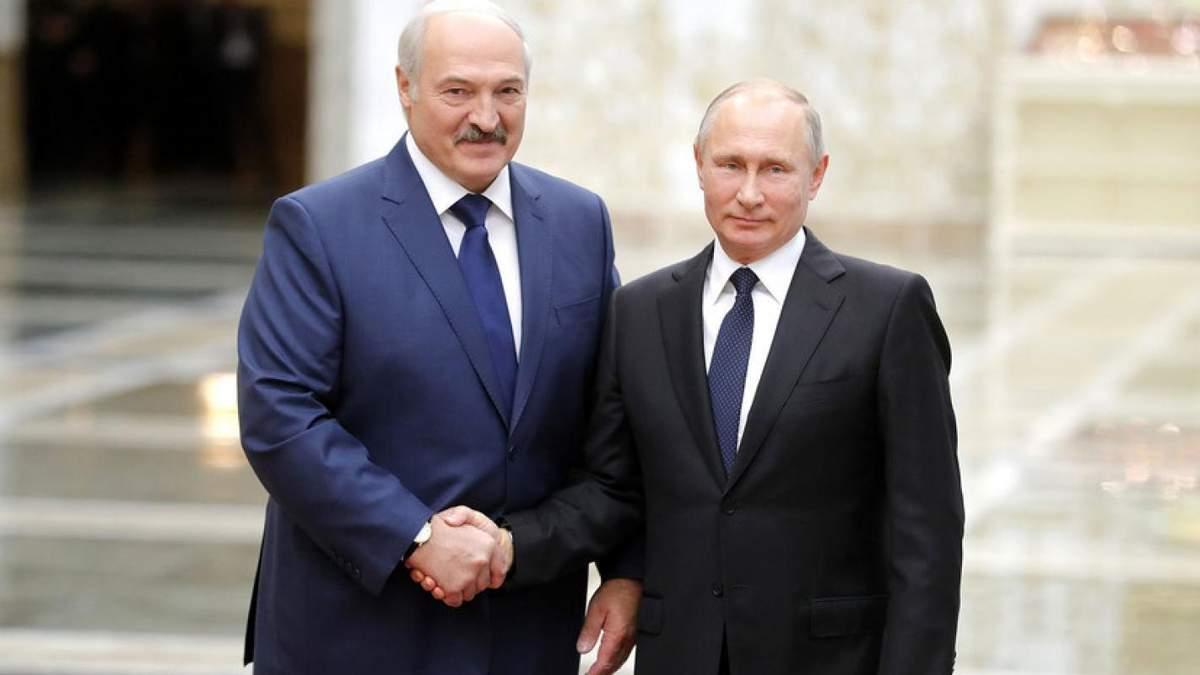Лукашенко підтримує ідею створення союзної держави з РФ