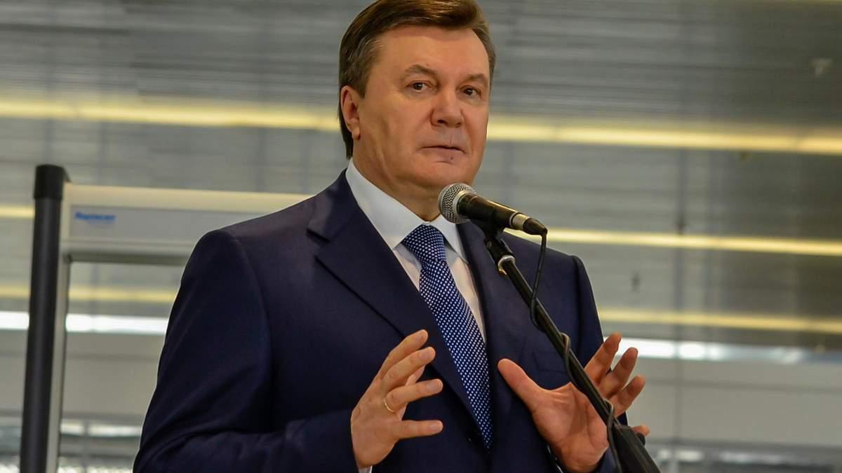 Віктор Янукович, президент-утікач