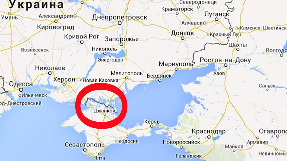 Google перестав позначати Крим українською територією у Росії