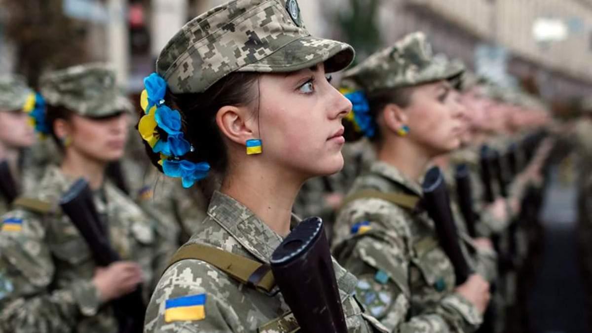 Українським дівчатам дозволили навчатися у військових ліцеях
