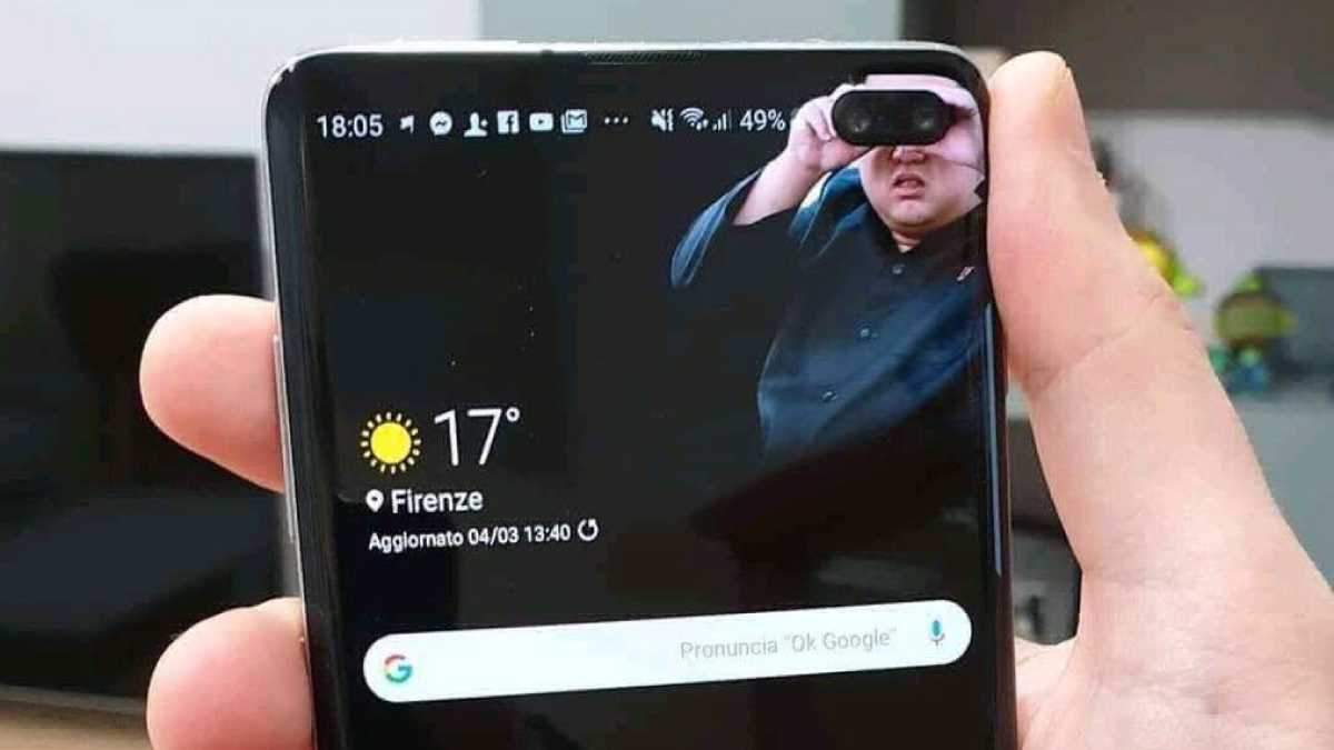 Мем на смартфон Samsung  Galaxy S10 +