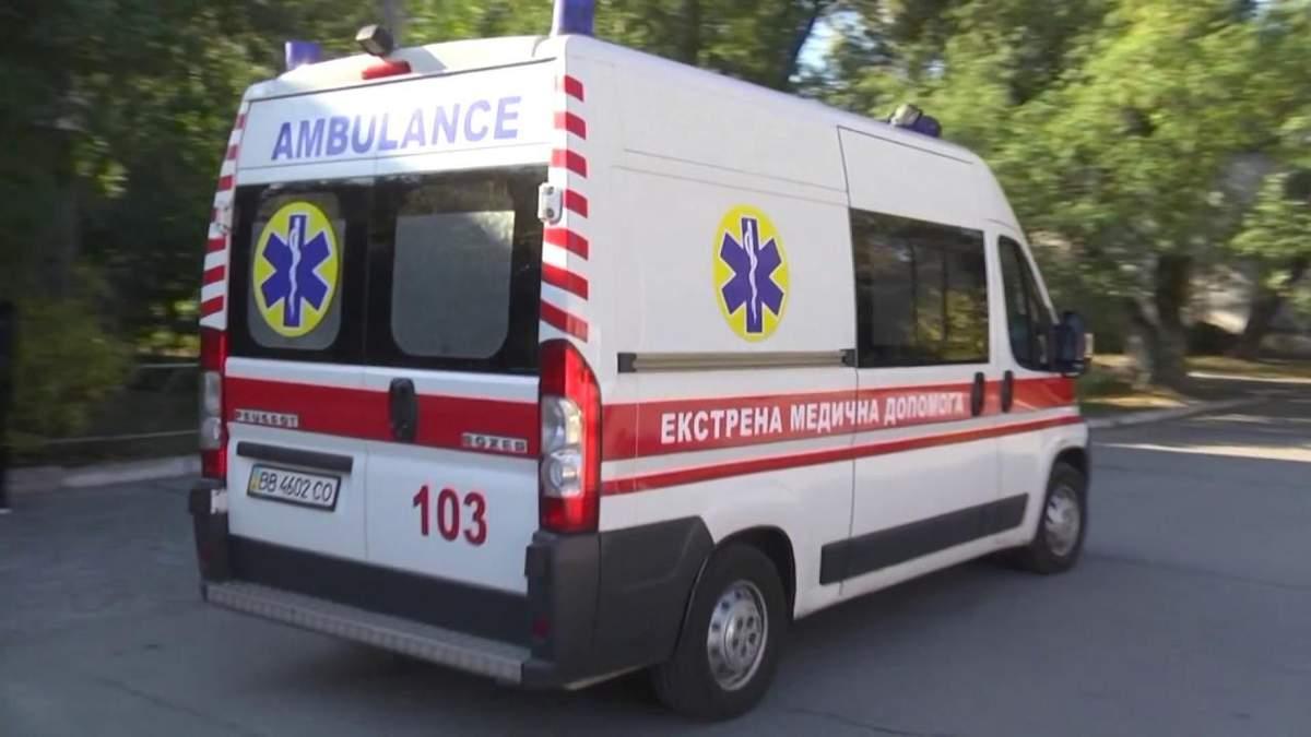 ДТП в Черкассах: пьяный водитель сбил человека на пешеходном переходе (видео)