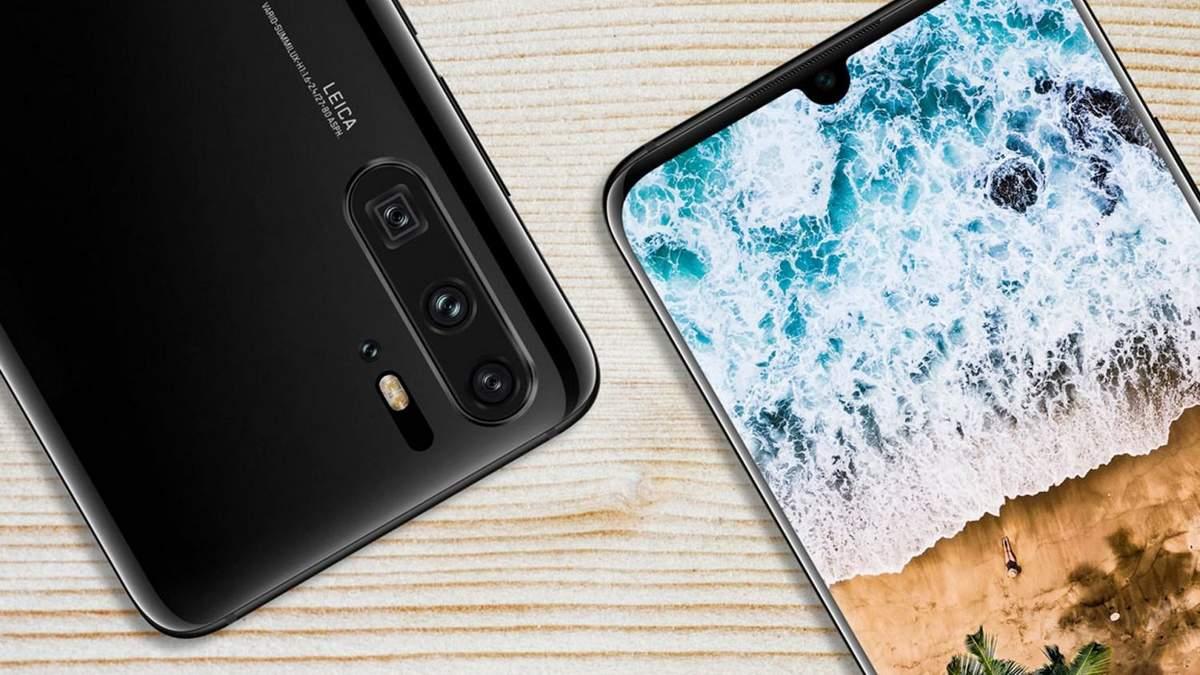 Смартфон Huawei P30 показали на відео