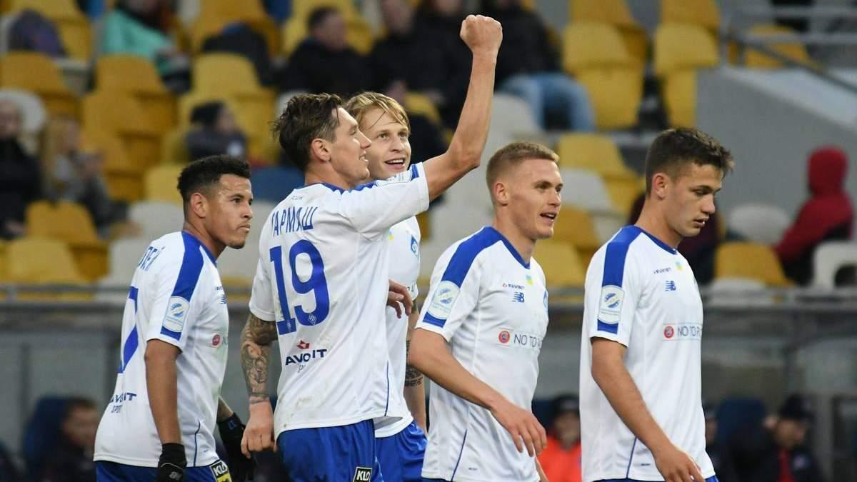Динамо - Арсенал Киев: видео голов, обзор матча УПЛ 2018/2019