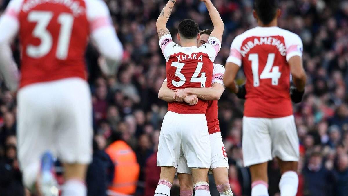Арсенал - Манчестер Юнайтед: відео голів, огляд матчу АПЛ 2018/2019