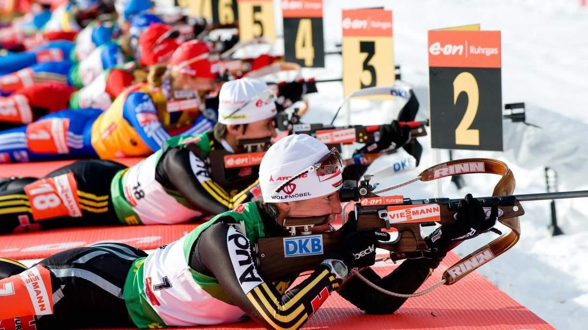 У Швеції біатлоністка ледь не застрелила суддю
