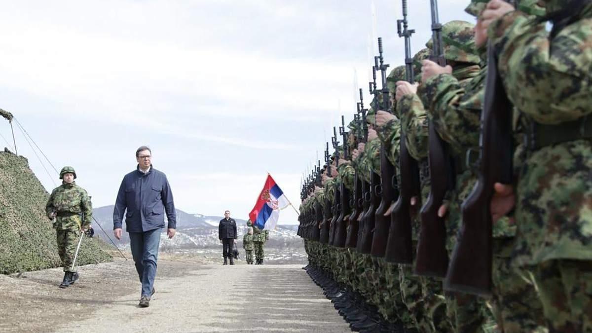 Радбез Сербії зібрався на надзвичайне засідання через Косово: анонсують жорсткі дії