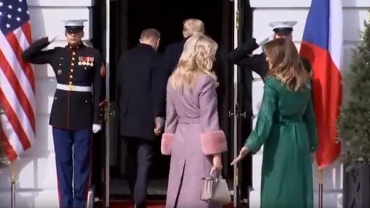 Жены президентов даже не поняли, что произошло