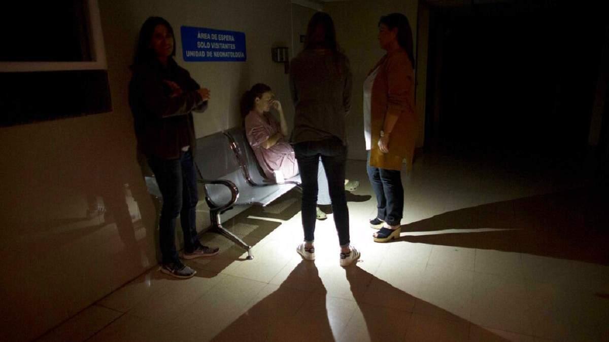 В Венесуэле продолжается отключение электроэнергии